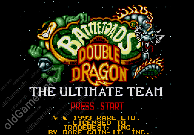 Battletoads & Double Dragon: The Ultimate Team (SEGA)