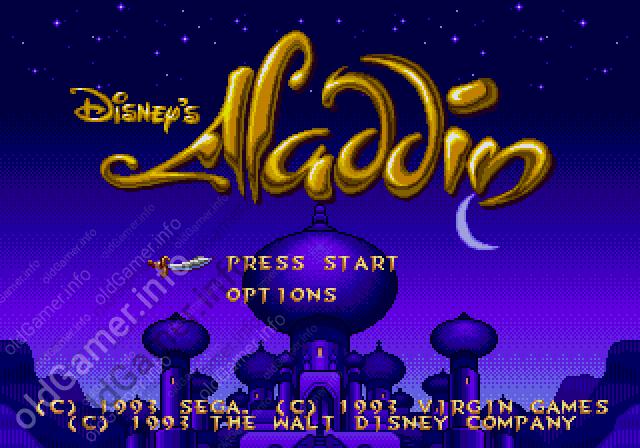 Disney's Aladdin (SEGA)