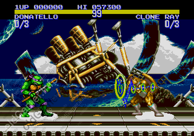 Teenage Mutant Ninja Turtles: Tournament Fighters (SEGA)