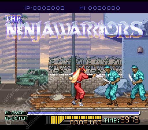 The Ninja Warriors